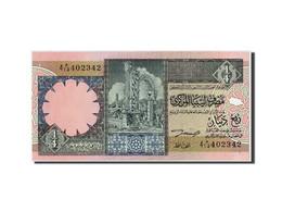 Libye, 1/4 Dinar, Non Daté (ca1991), KM:57b, Non Daté, NEUF - Libye