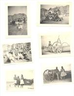 MIDDELKERKE - Lot De 11 Photos (+/- 6 X 9 Cm) 1947 Et 1950 (b178) Kust, Bateau, Plage, Digue - Places