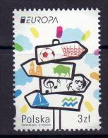 POLAND 2012 EUROPA CEPT MNH - 1944-.... Republik