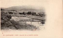 VAR 83 SAINT ZACHARIE VUE GENERALE VALLÉE DE LA SAINTE BAUME - Saint-Zacharie