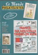 LE MONDE DES PHILATELISTES - LE GOLF, LES VIGNETTES FANTAISIES, GUERISEURS ET REBOUTEUX, CARNETS D IRLANDE - A VOIR - Français (àpd. 1941)