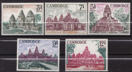 CAMBODGE SERIE  N� 167 A 171  NEUF*INFIME TRACE DE CHARNIERE