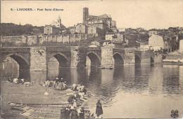 LIMOGES   LE PONT SAINT ETIENNE    LAVANDIERES - Limoges