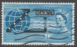 Great Britain. 1963 Opening Of COMPAC. 1/6 Used. SG 645 - 1952-.... (Elizabeth II)