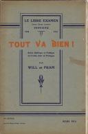 Le Libre Examen Jeune Garde Liberale De Verviers Revue Satiriqueet Politique Par Wil Et Fram - Boeken, Tijdschriften, Stripverhalen