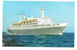 Holland-America Line - Flagship Rotterdam - Steamers