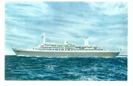 Holland-America Line - S.S.  Rotterdam - Steamers