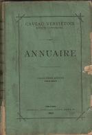 Littérature Wallonne 1883 Caveau Vervietois Verviers Cinquième Année - Libros, Revistas, Cómics