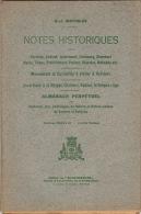 Notes Sur Verviers Ensival Andrimont Herve Theux ... Almanach Perpetuel De Coutumes Jeux Folklore Verviers 1928 - Livres, BD, Revues