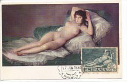 Spanien/España, Postkarte CP, Maja Desnuda/Quinta De Goya - 1930, Siehe Scan + *) - Sonstige
