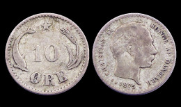 10 Ore 1875 CS. Danemark. Christian IX°. Argent/ Silver - Dänemark