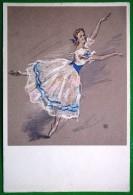 2011 USSR Art Klionsky. Irina Kolpakova. Giselle. Ballet - Théâtre