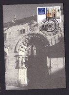 SPAIN ESPAGNE 1995 MAXIMUM CARD. UNIVERSITY OF SANTIAGO DE COMPOSTELA - Sonstige