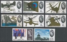 Great Britain. 1965 25th Anniv Of Battle Of Britain. Used Complete Set. SG 671-678 - 1952-.... (Elizabeth II)