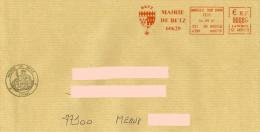 EMA Rouge SC 865199 Mareuil Sur Ourcq Oise + Flamme Mairie De Betz Sur Env Mairie - Blason - Enveloppes
