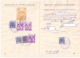 Libro Calificacion Escolar Bachillerato - (pag 10) - Fiscales