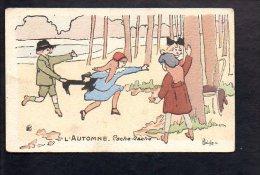 Illustrateur Dessin - (D ) H Delalain / L'Automne - Cache Cache - Illustrateurs & Photographes