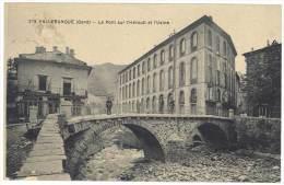Valleraugue - Le Pont Sur L'Hérault Et L'Usine - Valleraugue