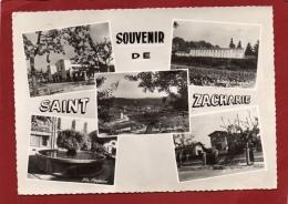 VAR 83 SAINT ZACHARIE  MULTI VUES SOUVENIR DE - Saint-Zacharie