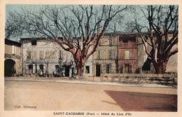 VAR 83 SAINT ZACHARIE  LA PLACE HOTEL DU LION D'OR - Saint-Zacharie