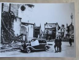 Nivelles Détruite. Bombardement Mai 1940 - 1939-45