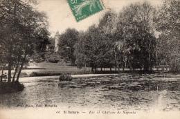VAR 83 SAINT ZACHARIE  LAC ET CHATEAU DE SAPORIA - Saint-Zacharie