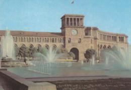 Ph-CPSM Erevan (Arménie) Place Lénine, Place De La République - Arménie