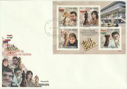 Sao Tome E Principe 2009 - Cover: FDC - Chess - Ajedrez
