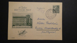 Germany - DDR - 1955 - MI: P 66 Used - Postal Stationary - Look Scan - [6] Democratic Republic