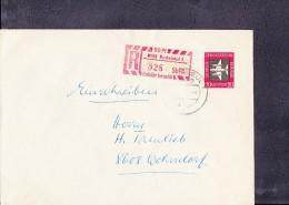 DDR:Fern- R-Brief  Radeeul 1 (828) 14.11.68 Mit Einl.-Schein - DDR