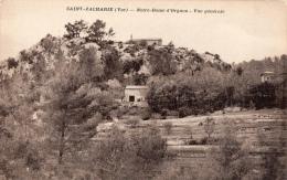 VAR 83 SAINT ZACHARIE NOTRE DAME D'ORGNON VUE GENERALE - Saint-Zacharie