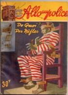 De Quoi ?. Des Nèfles Par Louis De La Hattais - Allo Police (5ème Série ) N°61 (?) - S.E.G. Société D'Ed. Générales