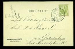 HANDGESCHREVEN BRIEFKAART Uit 1919 Gelopen Van NIJMEGEN Naar ´s-GRAVENHAGE  (10.061k) - Postal Stationery