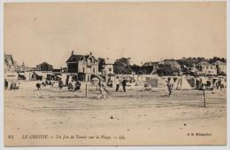 LE CROTOY - 80 - Somme - Le Jeu De Tennis - Le Crotoy