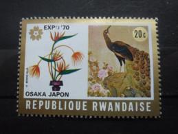 Rwanda N°362 PAON Neuf ** - Paons
