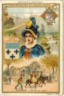 Liebig 1897 Sanguinetti N. 533 Province Francesi. Borbonese (Italia) Serie € 41 - Liebig
