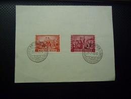 Belgie Old Card 1945, Antwerpen Postzegeltentoonstelling... - FDC