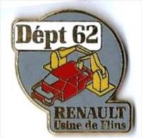 RENAULT - R9 - USINE DE FLINS - DEPT 62 - Verso : SOFREC - Renault