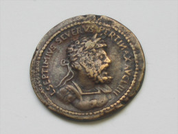 Monnaie  Romaine à Identifier - Transformée En Bouton ?  **** EN ACHAT IMMEDIAT *** - Romaines