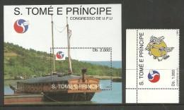 ST THOMAS AND PRINCE 1994 SHIPS UPU OMNIBUS MNH - Sao Tome And Principe