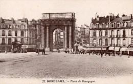 BORDEAUX PLACE DE BOURGOGNE - Monuments