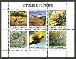 ST THOMAS AND PRINCE 2003 BIRDS GROUSE GAME SPORT MNH - Sao Tome And Principe