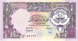 Kuwait - Pick 12 - 1/2 Dinar 1980 - Unc - Koweït
