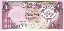 Kuwait - Pick 13 - 1 Dinar 1980/1991 - AUnc - Koweït