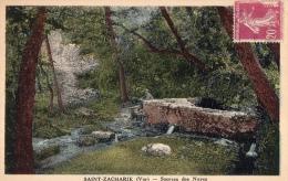 VAR 83 SAINT ZACHARIE  SOURCE DES NAYES - Saint-Zacharie