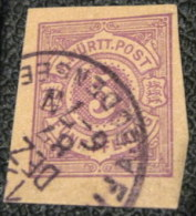 Wurtemberg 1875 Printed Stationary 5pfg - Used - Wurttemberg