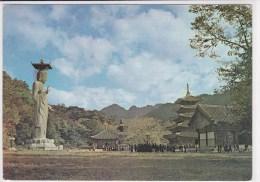 A Panorama View Of Beobju-sa Temple. Korea - Corée Du Sud