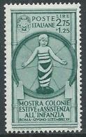 1937 REGNO COLONIE 2,75 LIRE MH * - Y073 - Nuevos