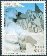 Italy 2006 Single Of Set/2 - Carrara Marble Minerals #2730 - 2001-10:  Nuevos