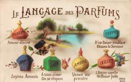 CPA Fantaisie - Le Langage Des Parfums - Tarjetas De Fantasía